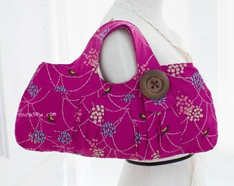 10 Lindsey Tote Bag PDF Pattern