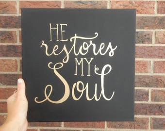 He Restores My Soul by Madison Ramsey