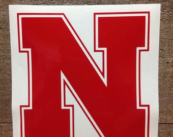 University of Nebraska Cornhuskers Vinyl Decal