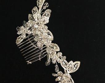 New Bridal rhinestone haircomb