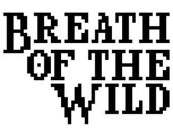 Breath of the Wild Alphabet Pattern