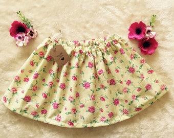 Cotton summer skirt