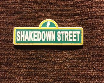 Grateful dead Shakedown Street  hat pin