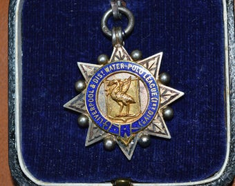 Liverpool Water polo League Medal 1933