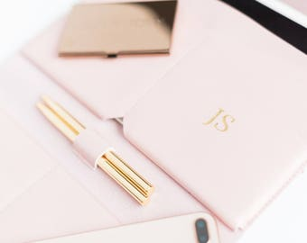 Ballpoint Pens|Blogger|Blogging|Writer|Pen Set|Gold Plated|Stationery|Desk Accessories|Gift|Gold|Black Ink|Girl Boss|Gold pens|Free Shipping