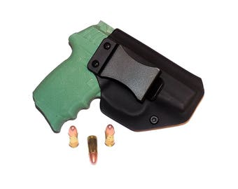Aggressive Concealment CPX2IWBLPBK-RH IWB Kydex Holster SCCY Cpx-2