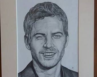 Paul Walker 16x12 Hand Signed Limited print