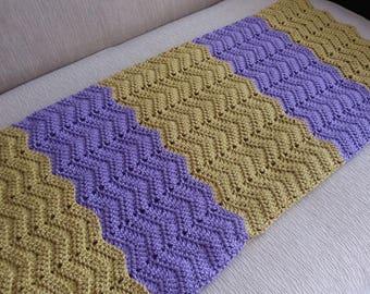 Crochet Ripple Babay Blanket