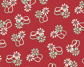 Red Loop Flower, Hello Jane by Allison Harris Collection 170149