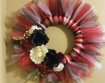 Razorback Tulle Wreath