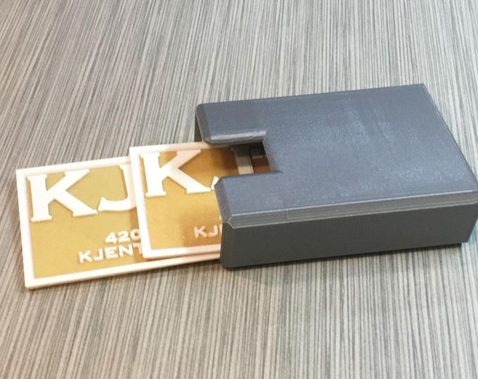 Featured listing image: Business Cards, Custom 3D Printed Plastic