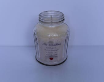 Frenchs 1950's Mustard Jar Candle