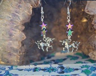 Unicorn Handmade Earrings
