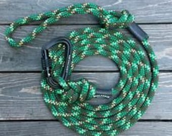 Camo Carabiner Rope Dog Leash