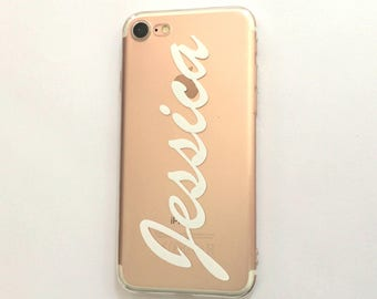 Personalized Name Phone Case, Custom Name Phone Case, Personalized iPhone Case, iPhone 7 Case, iPhone 6s Case, iPhone 7 Plus Case, iPhone