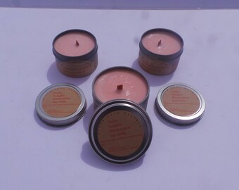 8 oz. Crackling Wooden Wick Soy Candle