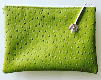 Lime green bag