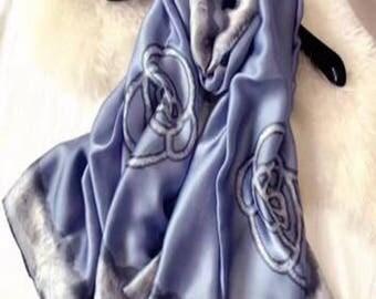 Elegant Silk Scarf For Women