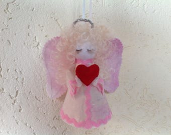 New exclusive handmade multicolored guardian angel figure souvenir