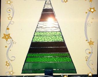 Glass Christmas tree large