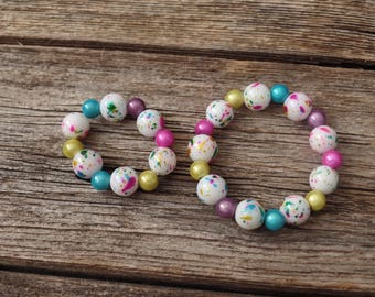 Doll and Me Colorful Stretch Bracelet Set