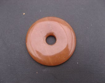 Red aventurine: 50 mm Donuts