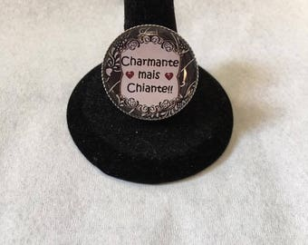 "Adjustable ring ""charming but boring"""