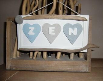 """""""ZEN"""" decorative frame"""