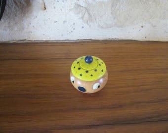 Clown baby teeth, pill box jewelry box round box