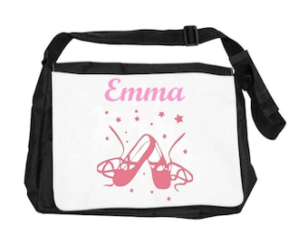Ballet bag personalized with name