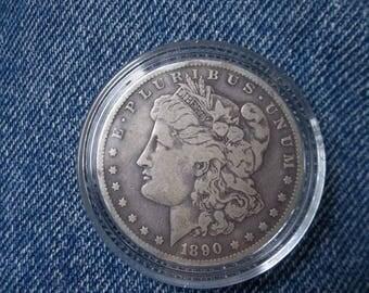 1890s  Silver Morgan Dollar