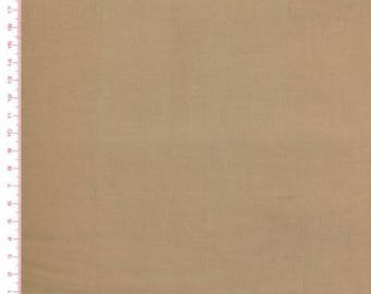 Dark Beige 100% cotton fabric