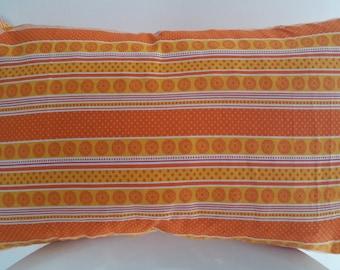 Cushion cover 50 x 30 cm yellow/orange