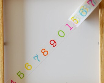 "Masking tape - pattern ""Figure Neon"" - 1.5 cm x 10 m"