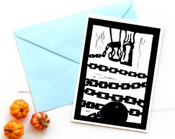 Postcard Art Print Chain
