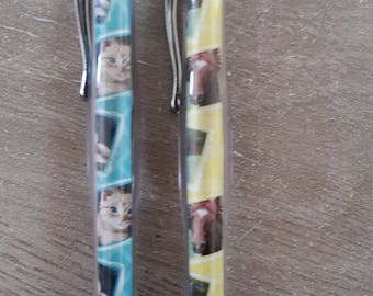 CAT and horse ball pens