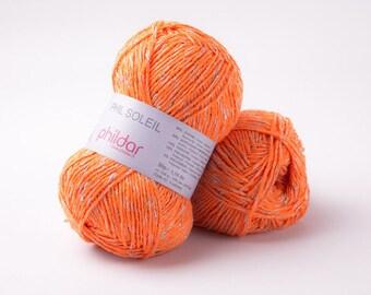 PHIL SOLEIL  de phildar coloris orange