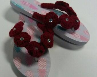 Womens Summer Comfort Casual Flat Flip Flops Sandals Slipper shoes