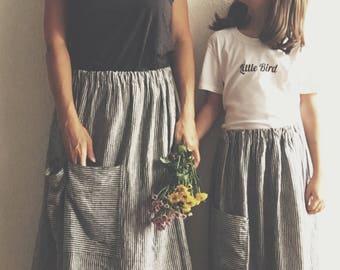 Mama Skirt Linen, Mama Rock
