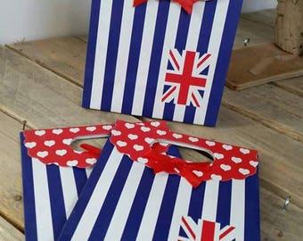 1 cardboard giftbox England flag