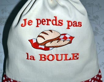 Special bread bag ball