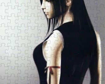 Final Fantasy VII 7 Advent Children Tifa A4 Puzzle - 120 Pieces