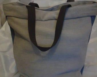 Linen purse / jeans