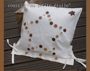 """my little star"" pillow cover"