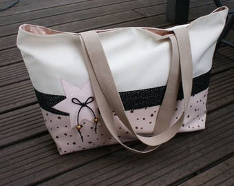 "cotton canvas tote bag ""little star"""