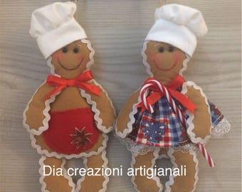 Christmas Ginger Couple