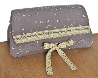 romantic double cotton pouch