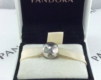 Pandora Retired Love Me, Mother Of Pearl Charm #790298MPW