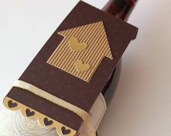 Bottle gift tag