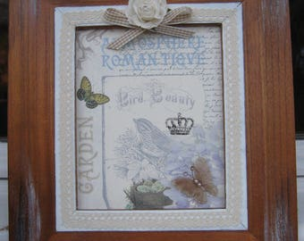 Adorable frame romantic shabby spirit
